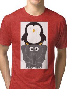 Totem Pole Tri-blend T-Shirt