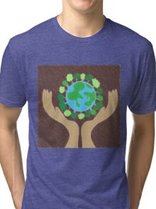 protect the planet Tri-blend T-Shirt