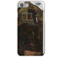 Egon Schiele - Landscape with Ravens 1911 iPhone Case/Skin