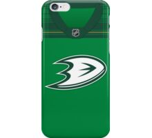 Anaheim Ducks St. Patrick's Day Jersey iPhone Case/Skin