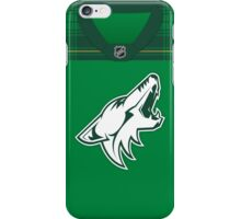 Arizona Coyotes St. Patrick's Day Jersey iPhone Case/Skin