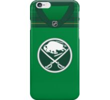 Buffalo Sabres St. Patrick's Day Jersey iPhone Case/Skin
