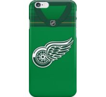 Detroit Red Wings St. Patrick's Day Jersey iPhone Case/Skin