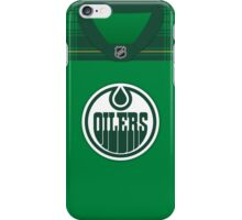 Edmonton Oilers St. Patrick's Day Jersey iPhone Case/Skin