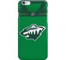 Minnesota Wild St. Patrick's Day Jersey iPhone Case/Skin