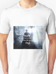 Outlander, Claire Fraser/Opening song Unisex T-Shirt