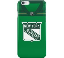 New York Rangers St. Patrick's Day Jersey iPhone Case/Skin