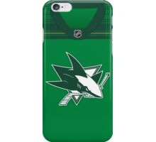 San Jose Sharks St. Patrick's Day Jersey iPhone Case/Skin