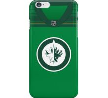 Winnipeg Jets St. Patrick's Day Jersey iPhone Case/Skin