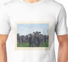 9 black cows: the Court Unisex T-Shirt
