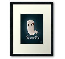 Boorito Framed Print