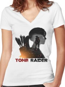 Lara Women's Fitted V-Neck T-Shirt