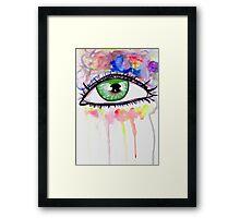 Eye Colors Framed Print