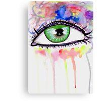 Eye Colors Canvas Print