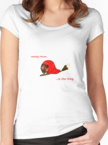 Weasley Mouse Women's Fitted Scoop T-Shirt