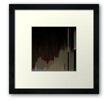 запустелый Framed Print