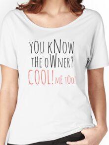 Bartender Women's Relaxed Fit T-Shirt