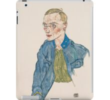 Egon Schiele - One-Year Volunteer Lance-Corporal 1916 iPad Case/Skin
