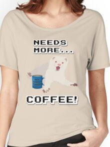 Ferret Needs More Coffee! Women's Relaxed Fit T-Shirt