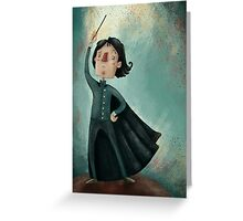 severus snape Greeting Card