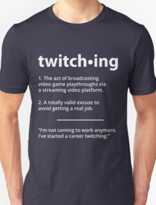Twitch T-Shirt | Hearthstone dota Warcraft fifa pokemon destiny battlefront geek Unisex T-Shirt