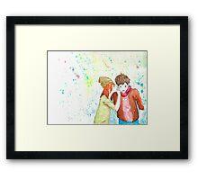 The Secret of Love Framed Print