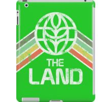 The Land Logo Distressed in Vintage Retro Style iPad Case/Skin
