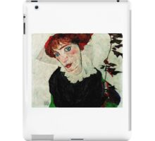 Egon Schiele - Portrait of Wally Neuzil 1912 Woman Portrait iPad Case/Skin