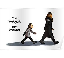Walk the Walk - The Warrior and Her Second Poster