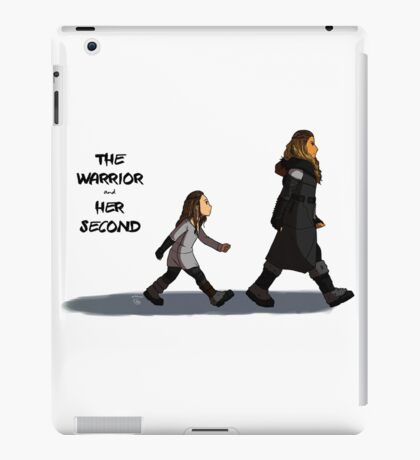 Walk the Walk - The Warrior and Her Second iPad Case/Skin