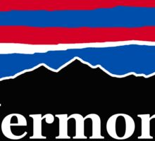 Vermont Red White and Blue Sticker