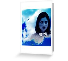 Rest in peace Clara Oswald Greeting Card