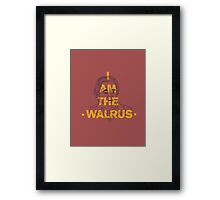 I Am The Walrus Framed Print