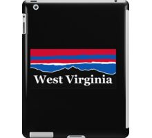 West Virginia Red White and Blue iPad Case/Skin