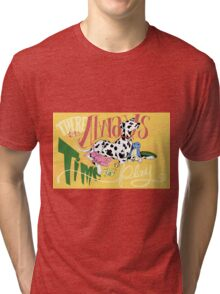 There's Always Time To Play Dalmatian Tri-blend T-Shirt