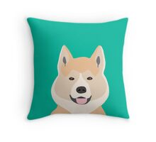 Akita dog owner must have gift home decor dog breed akita puppy cute  Throw Pillow