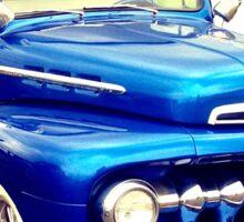 Blue Pickup Sticker