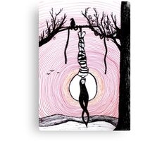 The Hanged Man - tarot series by Minxi Canvas Print