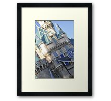 Diamond Celebration Castle Framed Print