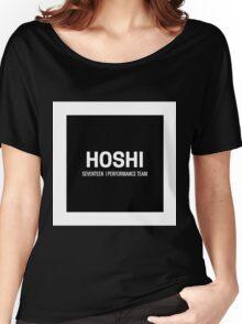 Seventeen Hoshi (Black BG) Women's Relaxed Fit T-Shirt