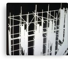Scaffold Canvas Print
