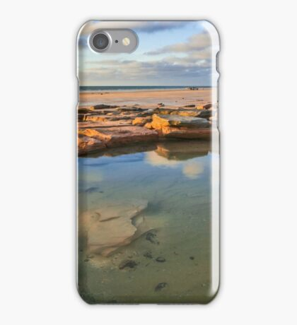 Cable Beach rock pool iPhone Case/Skin