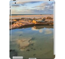 Cable Beach rock pool iPad Case/Skin