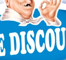 the discourse  Sticker