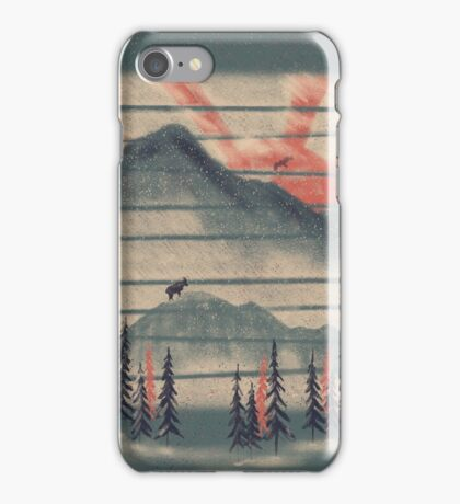 Mountain Goat Drifter... iPhone Case/Skin