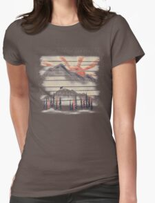 Mountain Goat Drifter... Womens Fitted T-Shirt