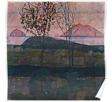 Egon Schiele - Setting Sun 1913 Poster