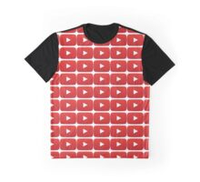 play button Graphic T-Shirt