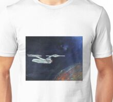Starship Enterprise - from  Star Trek (TOS) Unisex T-Shirt