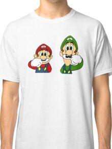 Hipster Mario Bros  Classic T-Shirt